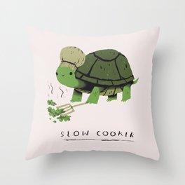 slow cooker Throw Pillow