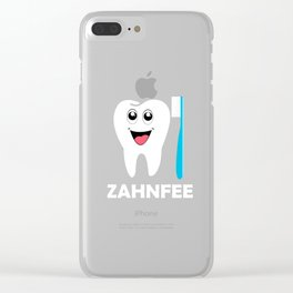 tooth fairy Clear iPhone Case