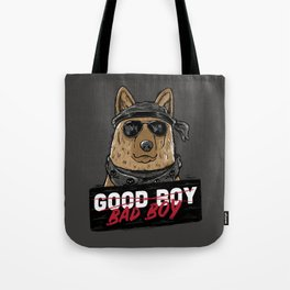 Good Boy Bad Boy Tote Bag