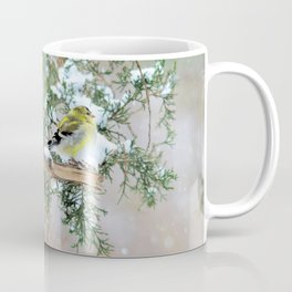 Lost in Time: April Snowstorm Coffee Mug