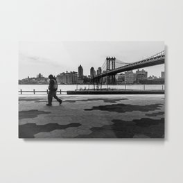 Time to walk away Metal Print