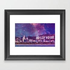 Hipsterland - Los Angeles Framed Art Print