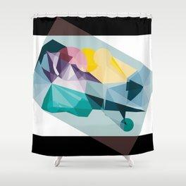 Kandy land Shower Curtain