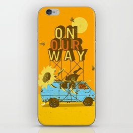 ON OUR WAY iPhone Skin