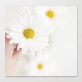 White. Canvas Print