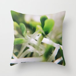 Sprout Me Throw Pillow
