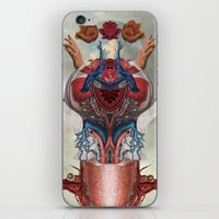 kaiju iPhone & iPod Skins featuring Kaiju by DIVIDUS