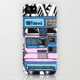 Aztec Polariod iPhone Case
