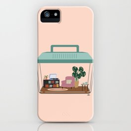 hermit habitat iPhone Case