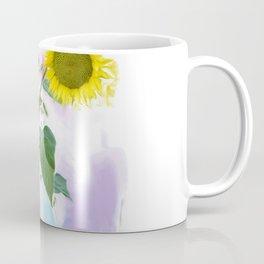 Digital painting of Two Sunflowers Coffee Mug