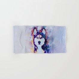 Tika'ani our Siberian Husky Hand & Bath Towel