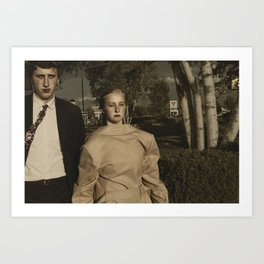 Television On Mute Art Print