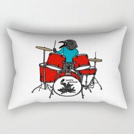 Salty Raven Drummer from Flock of Gerrys Rectangular Pillow
