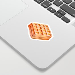 100 Days of Sunlight Waffle Sticker
