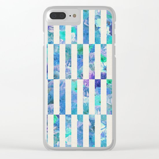 FLORAL ORDER Clear iPhone Case