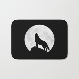 Howling Wolf - Moon Bath Mat
