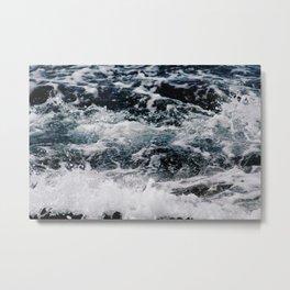 SEA - OCEAN - WAVES - WATER - NATURE Metal Print