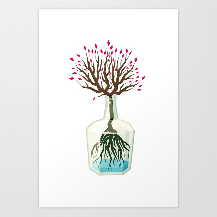 Discover the motif GROWTH by Yetiland as a print at TOPPOSTER