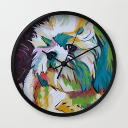 Grady the Shih Tzu Wall Clock