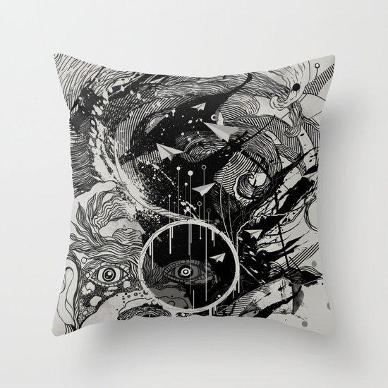 W.A.V.E. Throw Pillow