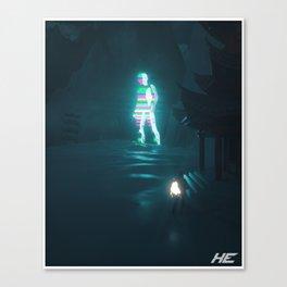 Technotopia Canvas Print