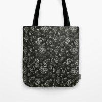 noir Tote Bags featuring Noir by Twntÿandsevn