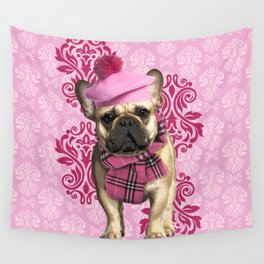 Dog Chic Wall Tapestry