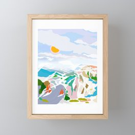 lakeside Framed Mini Art Print