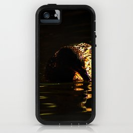 The swimming duck iPhone Case