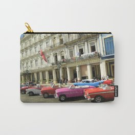 Vintage cars in Havana, Cuba Carry-All Pouch