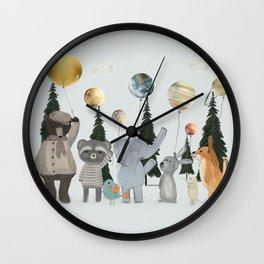 the solar parade Wall Clock