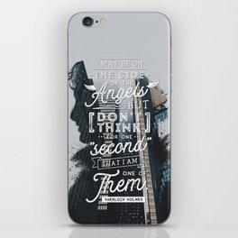 Sherlock - Angels iPhone Skin