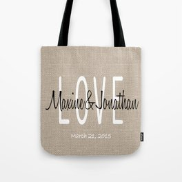 Wedding Pillow Tote Bag
