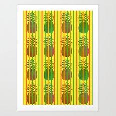 The Tropics Art Print