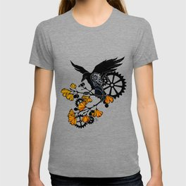Raven and Ginkgo - Autumn Cycle T-shirt