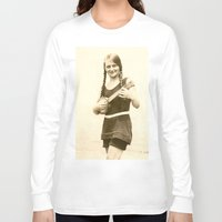 ursula Long Sleeve T-shirts featuring Ursula by Julia Kathryn