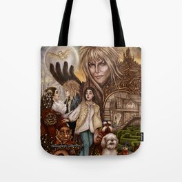 Labyrinth Tribute Tote Bag