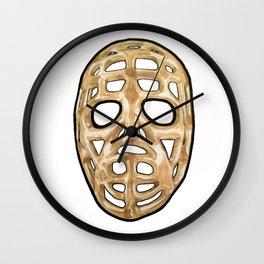Plante Mask 2 Wall Clock