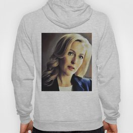 Stella Gibson oli color painting Hoody