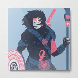 The Warrior Within Metal Print