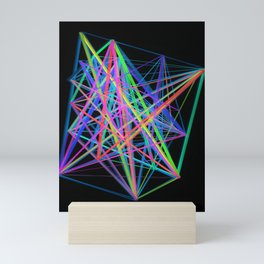 Colorful Rainbow Prism Mini Art Print