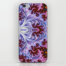 BBQSHOES: Fractal Art Design Mother Of Pearl #1814 iPhone Skin