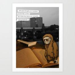 SMUG BASTARDS Art Print