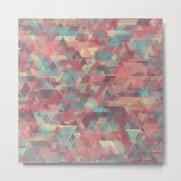 Equilateral Confusion Metal Print