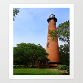 Currituck Beach Light Station Art Print