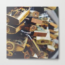 Find the key Metal Print