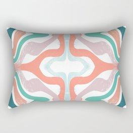 Blurred Lines Rectangular Pillow