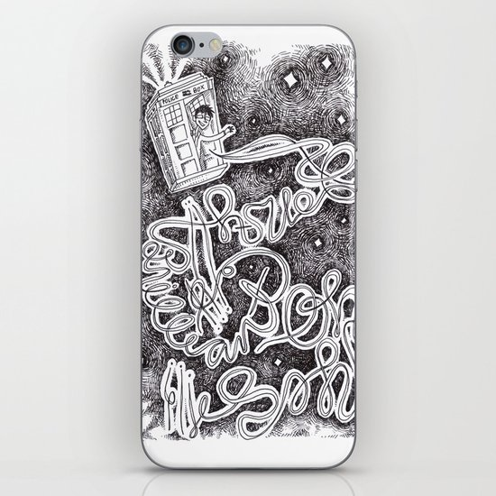 Allons-Y! iPhone & iPod Skin