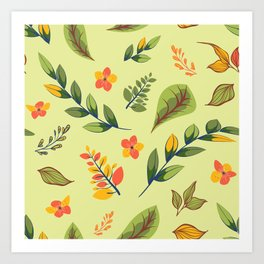 Flower Design Series 2 Art Print