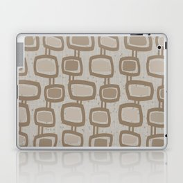Dangling Rectangles in Brown Laptop & iPad Skin